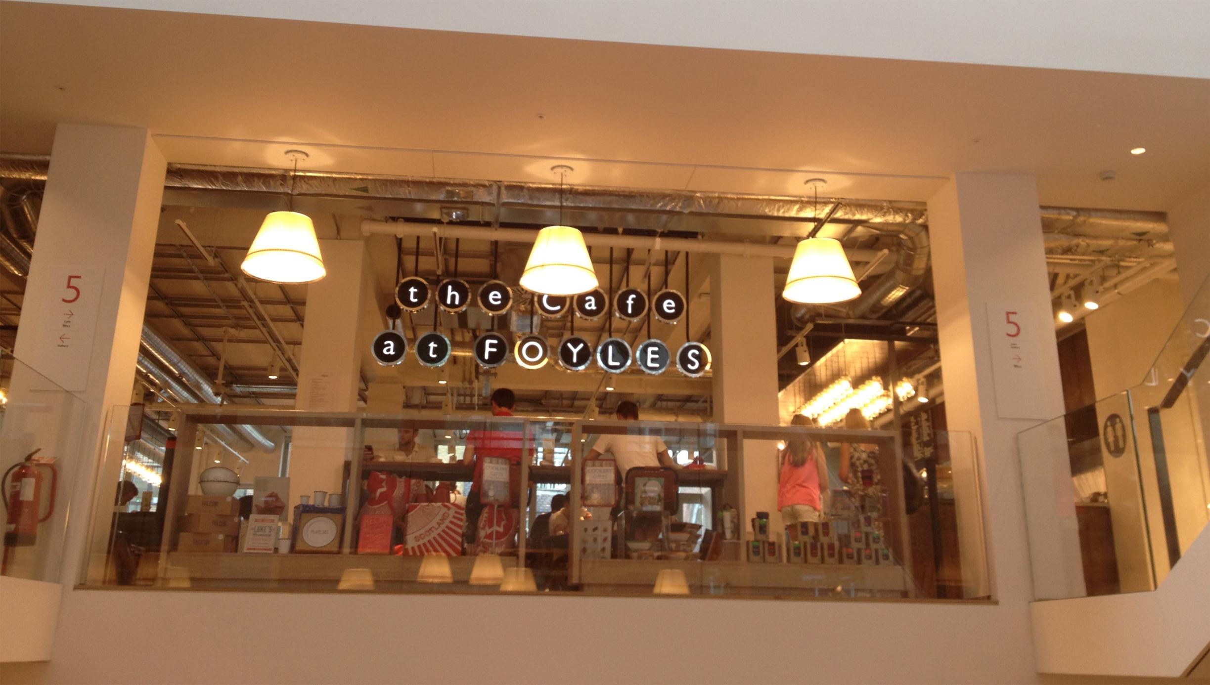 Foyles cafe